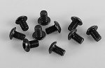 Steel Button Head Cap Screws M4 x 6mm (10)