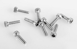 Socket Head Cap Screws M1.5 X 6mm (10)