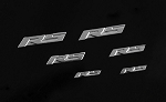 RC4WD 1/10 RS Emblem Set
