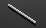 "89mm (3.5"") Internally Threaded Aluminum Link (Silver)"