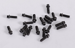 RC4WD Miniature Scale Hex Bolts (M2 x 6mm) (Black)