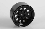 Pro10 1.9 Steel Stamped Beadlock Wheel (Black)