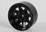 5 Lug Wagon 1.9 Steel Stamped Beadlock Wheels (Black)