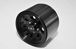 Mickey Thompson Classic II Black Beadlock Wheels for Traxxas Revo and T-Maxx 3.3 (17mm hub)