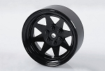 6 Lug Wagon 2.2 Steel Stamped Beadlock Wheels (Black)