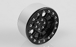 Raceline Monster 2.2 Beadlock Wheels (Black/Silver)