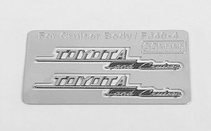 Side Metal Emblems for RC4WD Cruiser Body (Side B)
