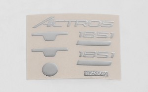 Metal Emblem Set for Tamiya 1/14 Benz / Actros Model