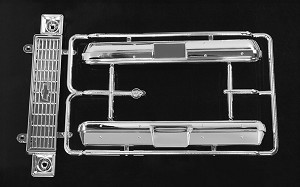RC4WD Chevrolet Blazer Chrome Grill and Bumper Parts Tree