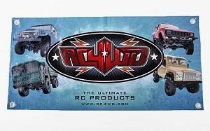 1x2 RC4WD Banner