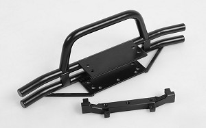 RC4WD Rampage Front Double Tube Bumper with Hoop for Trail Finder 2 SWB