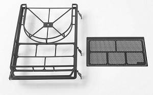 Roof Rack with Tire Mount for Land Rover D90