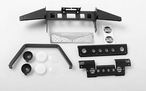 Metal Front Bumper w/Stinger and Lights for Gelande II D90/D110
