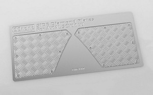 Rear Diamond Plates for Axial SCX10 XJ