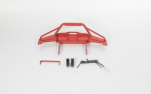 Solid Front Bumper for Axial SCX10 II XJ (Red)