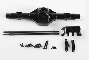 Aluminum Rear Centered Axle Housing for Axial Wraith (Black)