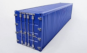 RC4WD 1/14 All Metal 40' Shipping Container (Blue)