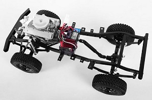 Fracture Scale RTR Truck with V8 Engine