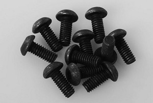 Steel Button Head Cap Screws M2.5 x 6mm (10)