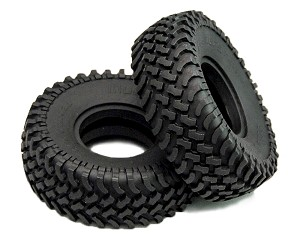 "Mud Thrashers 1.55"" Scale Tires"