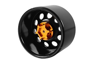 "Pro10 40 Series 3.8"" Steel Stamped Beadlock Wheel (Black)"