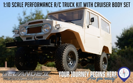 Gelande Cruiser Kit and RTR