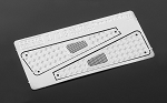 Metal Front Side Hood Diamond Plates for 1/18 Gelande D90