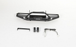 Solid Front Bumper for Axial SCX10 II XJ (Black)