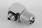 Hydraulic Connector M5 x 4mm Tube (90deg)