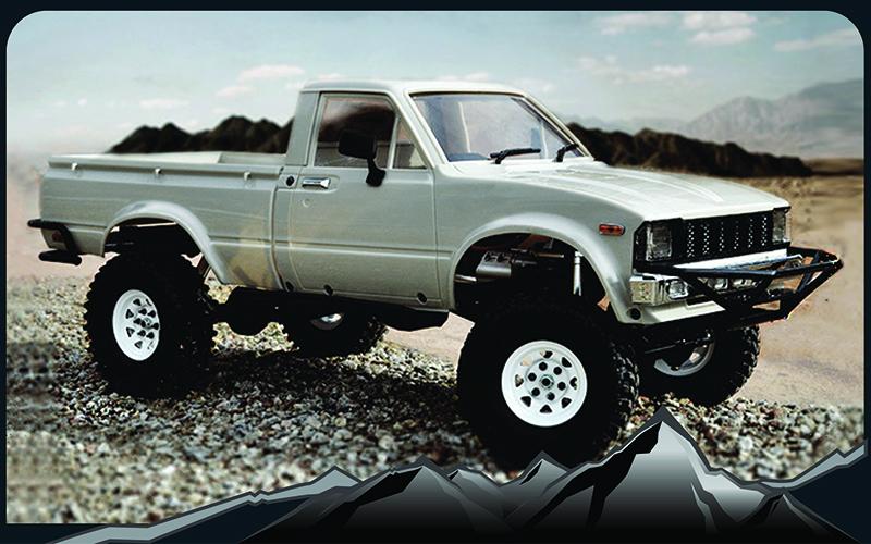 Rc4wd Trail Finder 2 Truck Kit W Mojave Ii Body Set