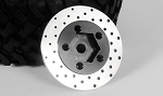 1.9 5 Lug Steel Wheel Hex Hub with Brake Rotor