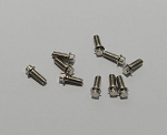 RC4WD Miniature Scale Hex Bolts  (M2 x 5mm) (Silver)