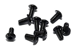 Steel Button Head Cap Screws M3 x 6mm (10)