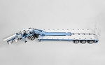 Swingwing 3x8 Widening Equipment Semi Trailer and 2x8 Widening Dolly