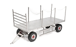 4 Wheel Steel Stake Trailer
