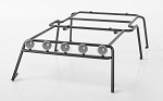 Metal Rolling Rack for Axial SCX10 Wrangler w/ Lights