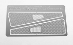 Diamond Plate Fender Covers for Traxxas TRX-4
