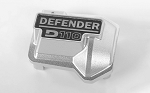 Defender D110 Diff Cover for Traxxas TRX-4 (Silver)
