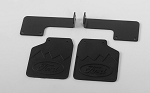 Rear Mud Flaps for Traxxas TRX-4 '79 Bronco Ranger XLT