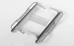 Ranch Side Step Sliders for Traxxas TRX-4 '79 Bronco Ranger XLT (Silver)