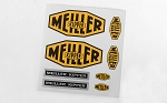 Meiller Kipper Decal Set for Mercedes-Benz Arocs 3348 6x4 Tipper Truck
