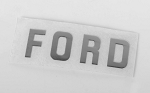 Ford Emblem for 1/18 BlackJack Body (Silver)