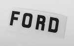 Ford Emblem for 1/18 BlackJack Body (Black)