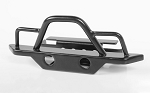 Steel Front Bumper for 1/18 Gelande II RTR W/BlackJack Body (Black)
