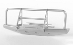Steel Front Winch Bumper for 1/18 Gelande II RTR W/BlackJack Body (Silver)