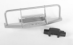 Steel Front Winch Bumper W/Plastic Winch for 1/18 Gelande II RTR W/BlackJack Body (Silver)