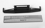 Steel Rear Bumper for 1/18 Gelande II RTR W/BlackJack Body (Black)