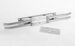 Steel Tube Rear Bumper for Tamiya 1/10 Isuzu Mu Type X CC-01 (Silver)