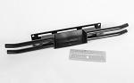 Steel Tube Rear Bumper for Tamiya 1/10 Isuzu Mu Type X CC-01 (Black)