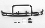 Rhino Front Bumper w/IPF Lights for Traxxas TRX-4 '79 Bronco Ranger XLT (Black)